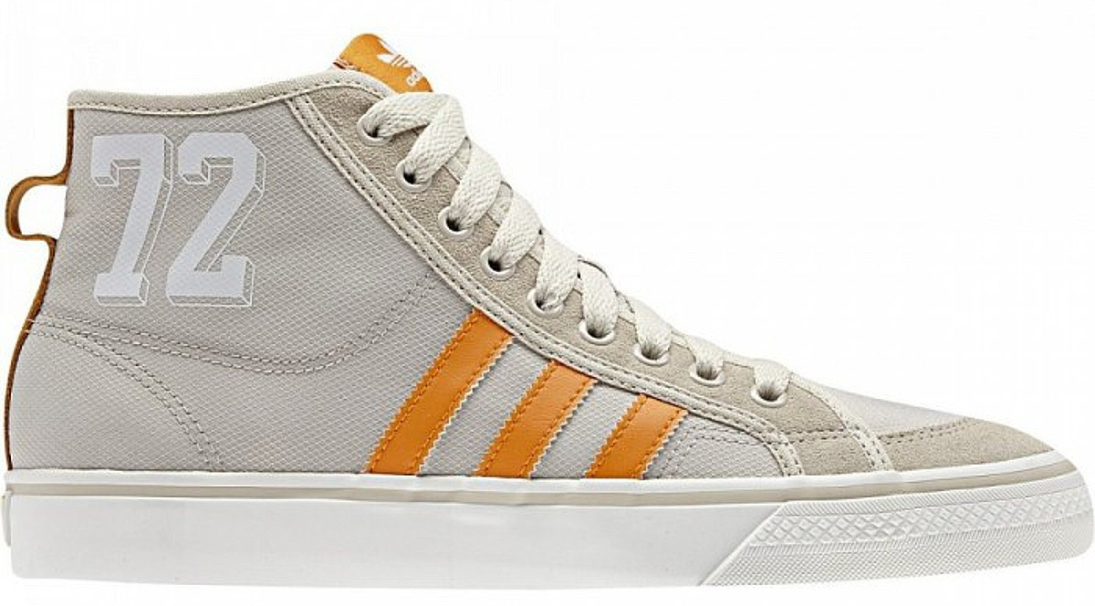 NIZZA HI beige orange Sneaker