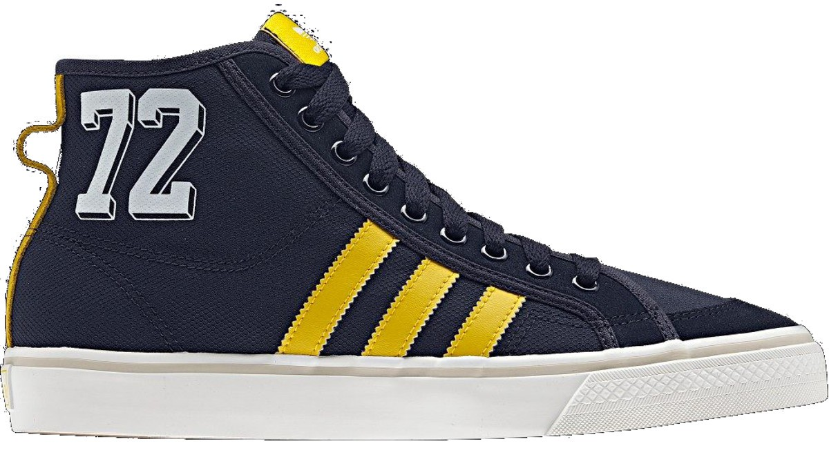 NIZZA HI legink/triyel/whtvap Sneaker